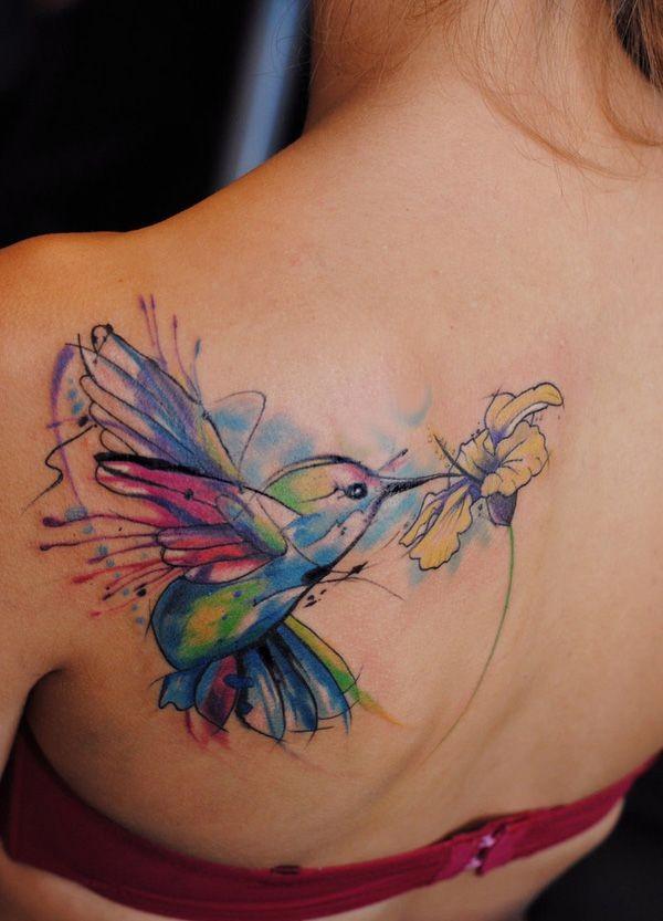 Tatuagens de Beija-Flor 04