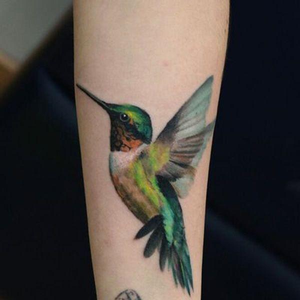 Tatuagens de Beija-Flor 05
