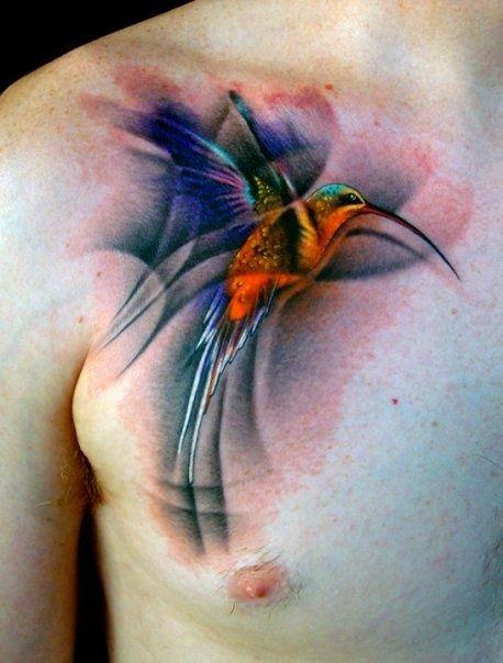 Tatuagens de Beija-Flor 13