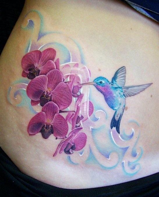 Tatuagens de Beija-Flor 14