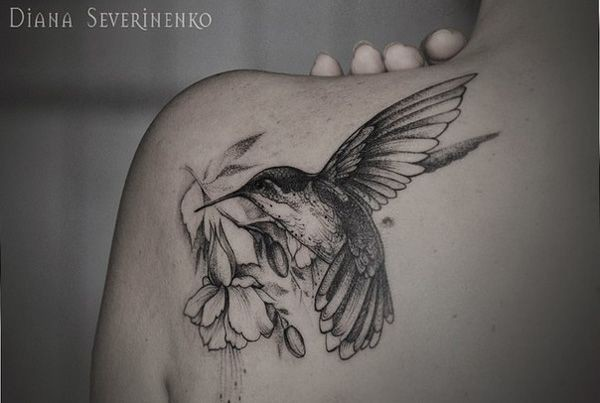 Tatuagens de Beija-Flor 16