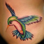 18 Ideias de Tatuagens de Beija-Flor