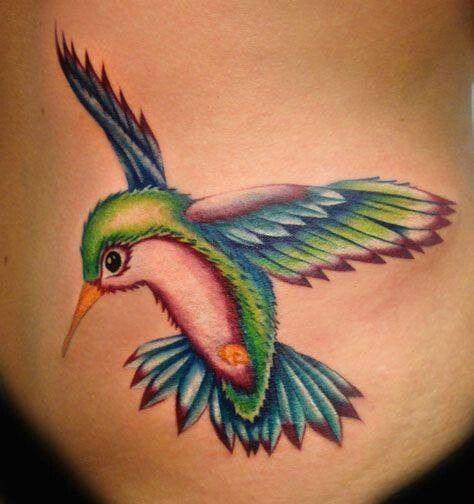 Tatuagens de Beija-Flor 17