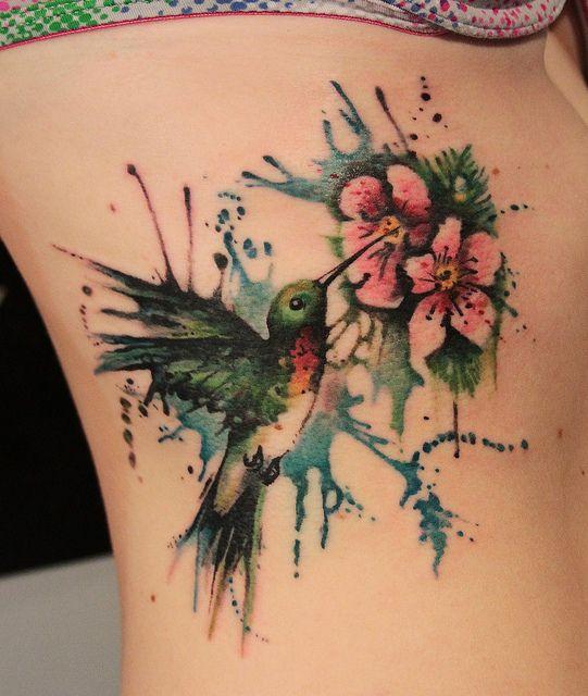 Tatuagens de Beija-Flor 18