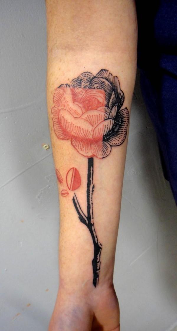 Tatuagens de flores 05