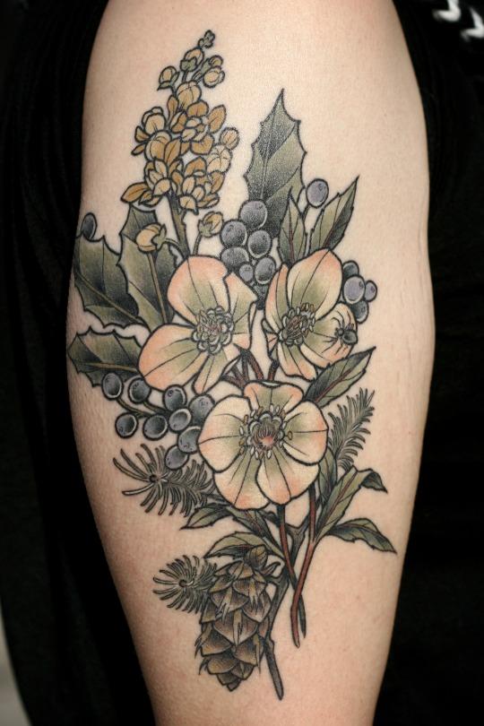 Tatuagens de flores 06