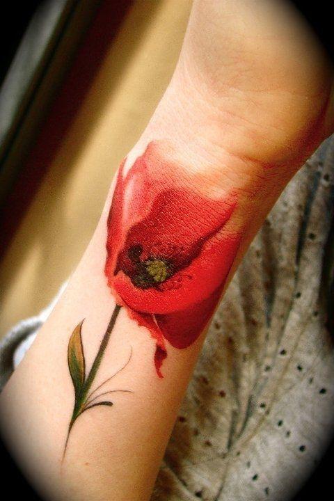 Tatuagens de flores 10