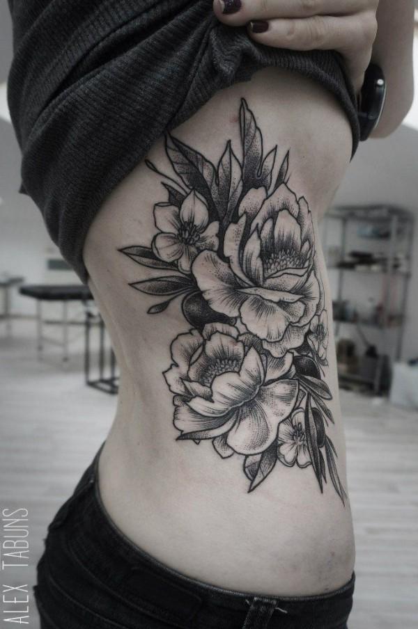 Tatuagens de flores 11