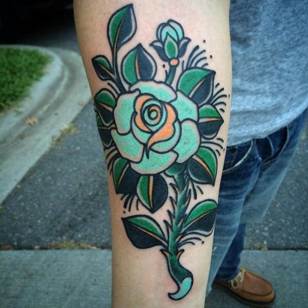 Tatuagens de flores 17