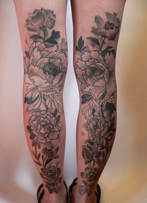 Tatuagens de flores 19