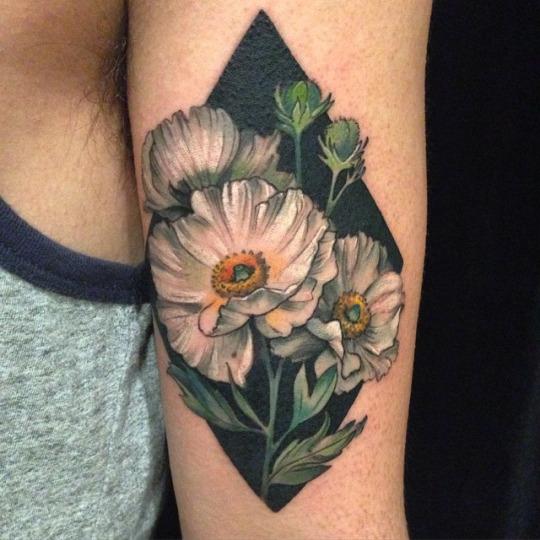 Tatuagens de flores 20