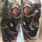 30 Tatuagens de Caveiras para você