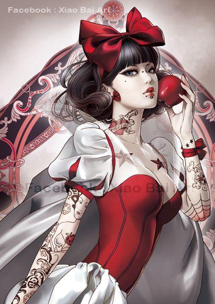 Desenhos animados tatuados 04