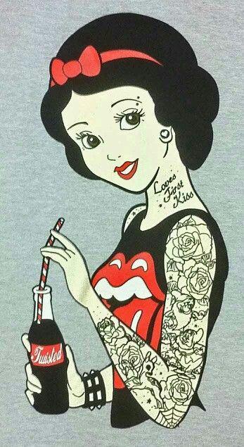 Desenhos animados tatuados 22