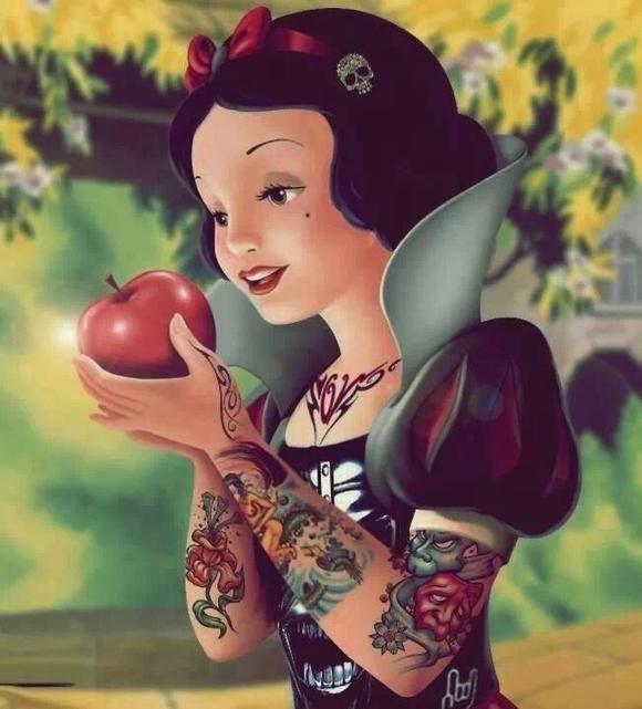 Desenhos animados tatuados 26