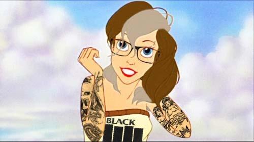 Desenhos animados tatuados 33