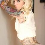 Mod Girls: 30 Gatas tatuadas para babar