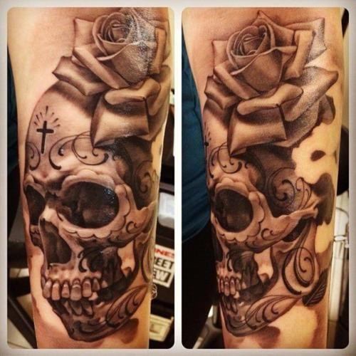 Tatuagem de caveira 01