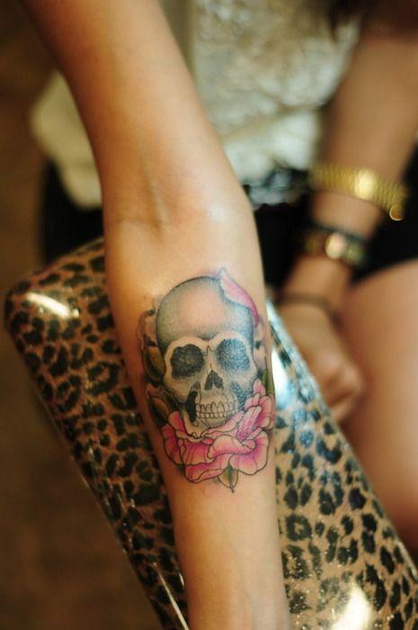 Tatuagem de caveira 02