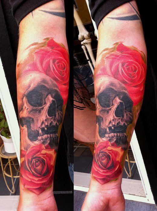 Tatuagem de caveira 03