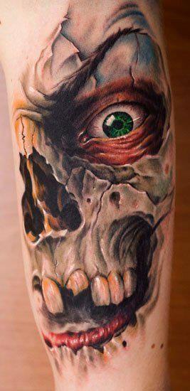 Tatuagem de caveira 04