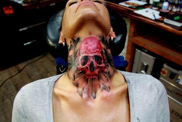 Tatuagens de caveiras diversas 101