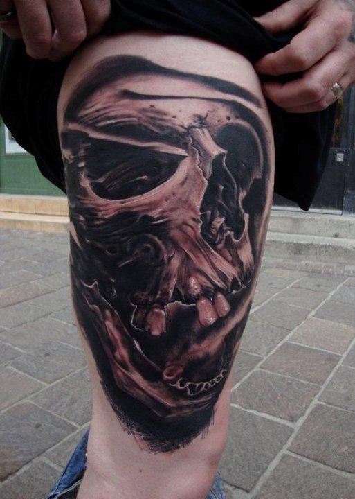 Tatuagens de caveiras diversas 102