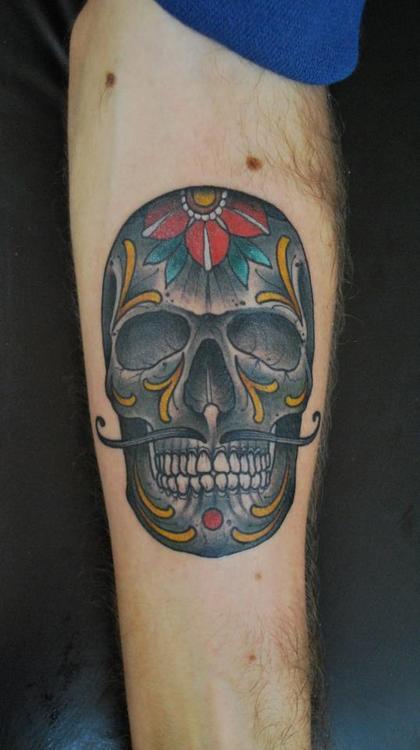 Tatuagens de caveiras diversas 105