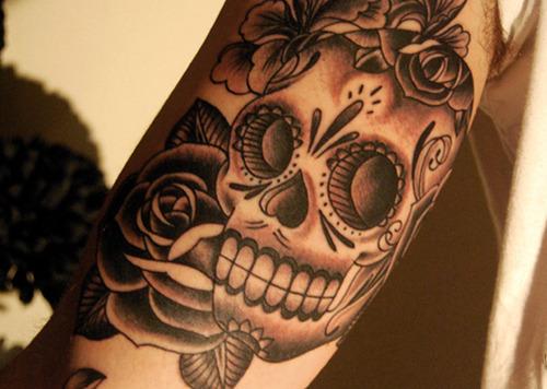 Tatuagens de caveiras diversas 106