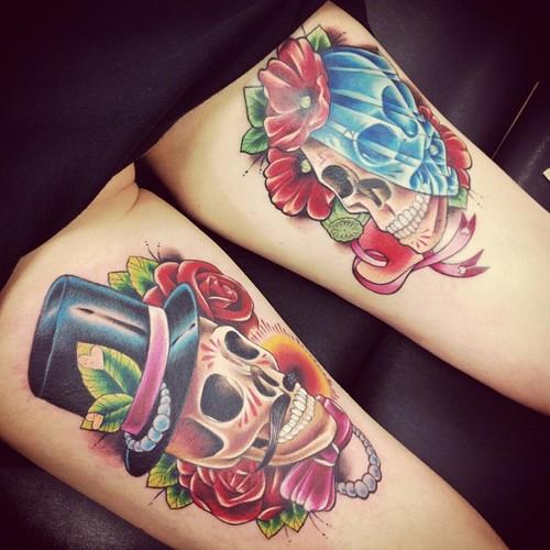 Tatuagens de caveiras diversas 109