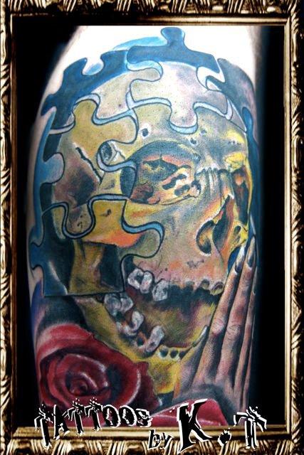 Tatuagens de caveiras diversas 110