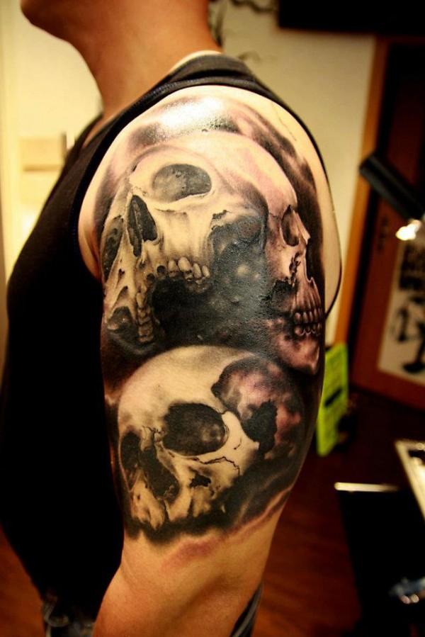 Tatuagens de caveiras diversas 111