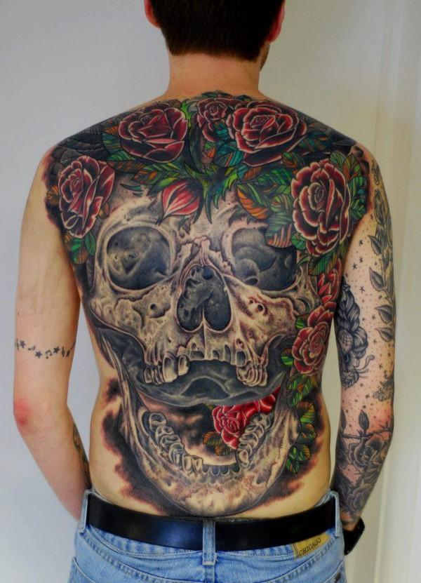 Tatuagens de caveiras diversas 114