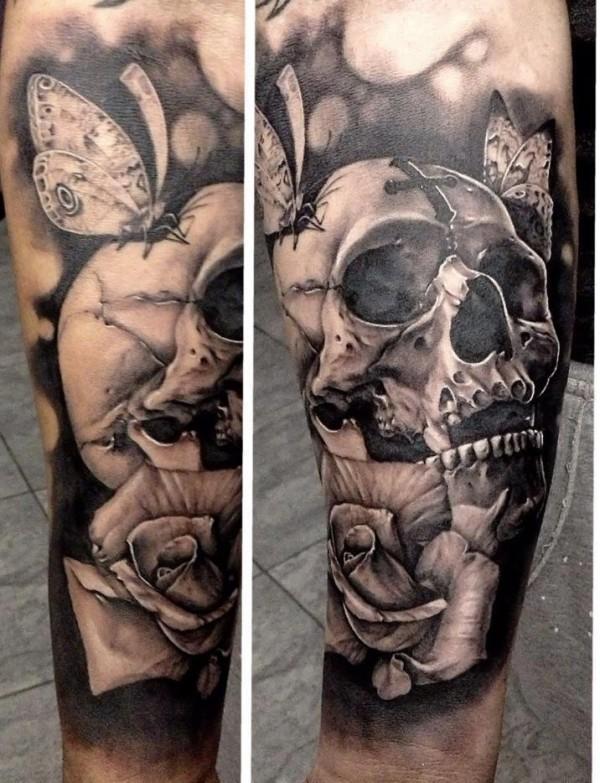 Tatuagens de caveiras diversas 115