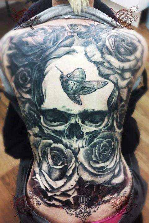 Tatuagens de caveiras diversas 116