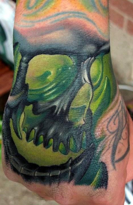 Tatuagens de caveiras diversas 117