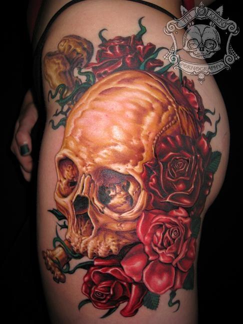 Tatuagens de caveiras diversas 118