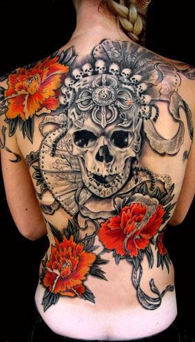 Tatuagens de caveiras diversas 120