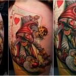 18 Tatuagens que vão colorir o seu dia.