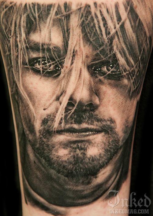 Tatuagem Kurt Cobain 07