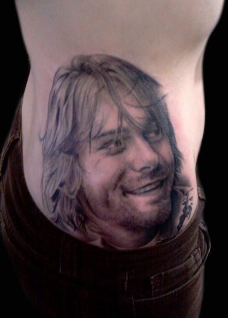Tatuagem Kurt Cobain 09
