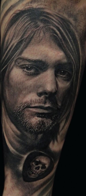 Tatuagem Kurt Cobain 10