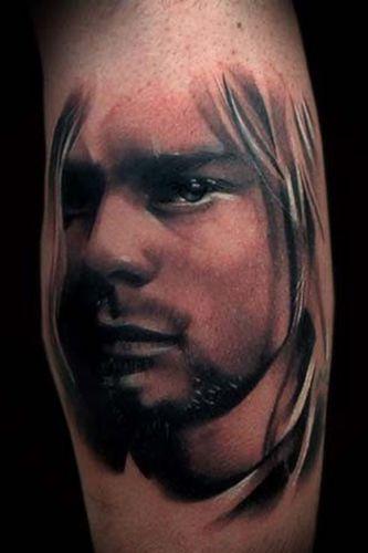Tatuagem Kurt Cobain 11