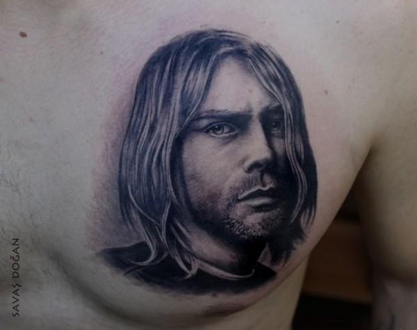 Tatuagem Kurt Cobain 13