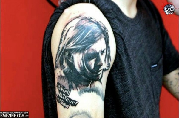Tatuagem Kurt Cobain 15