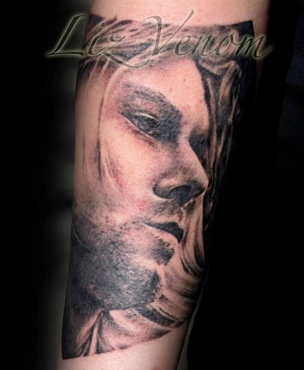 Tatuagem Kurt Cobain 16