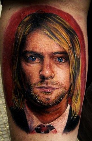 Tatuagem Kurt Cobain 17
