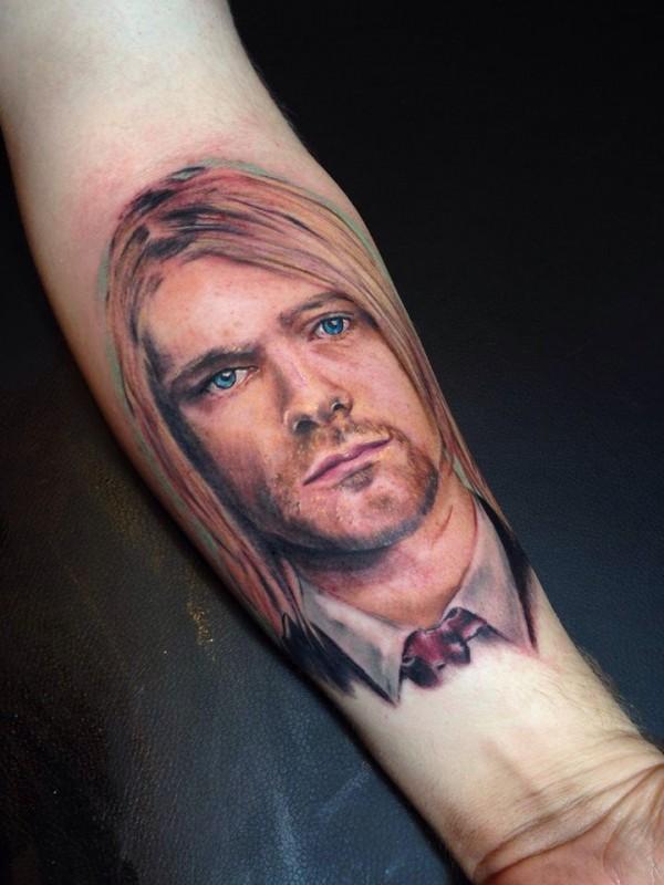 Tatuagem Kurt Cobain 18