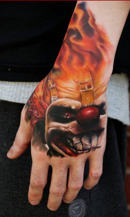 Tatuagem na mão 03