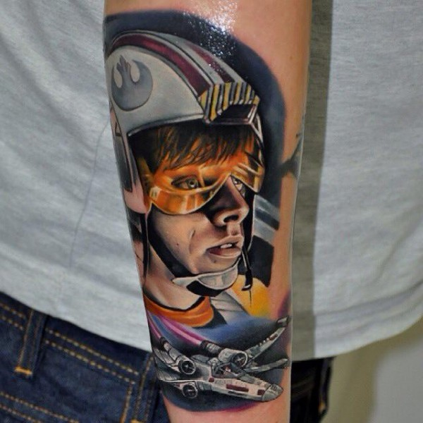 Tatuagens Star Wars day 01